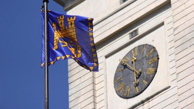Львову 757 років: На Ратуші урочисто підняли прапор міста