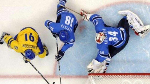 Хокей: Збірна Швеції перемогла швейцарців 5:1