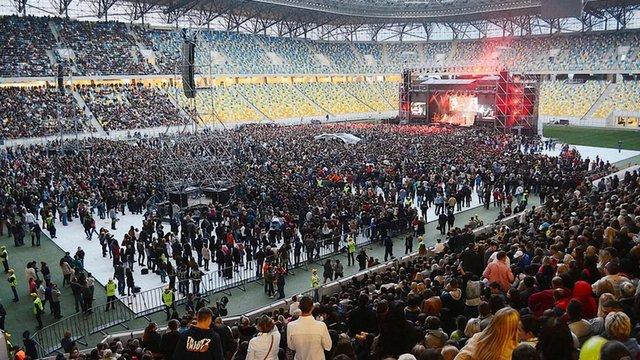 «Океан Ельзи» відіграв у Львові тригодинний концерт