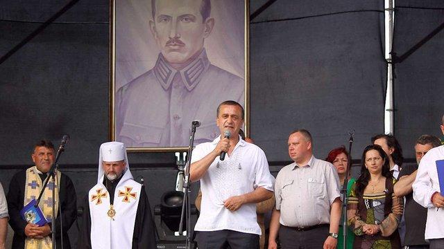 У Зашкові відбувся триденний фестиваль, присвячений Коновальцю