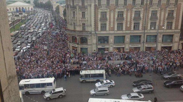 У Росії - тисячні протести на підтримку Навального: почалися затримання