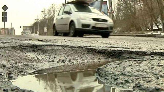 Дорогу на Тернопіль ремонтуватимуть біля Львова і Золочева