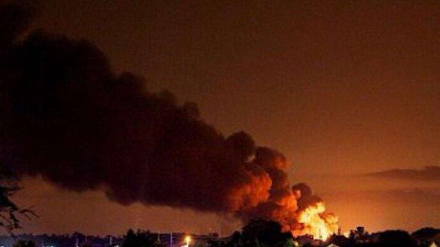 У США вибухнув хімзавод