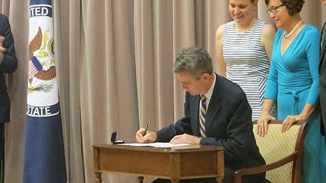 Новий посол США в Україні склав присягу