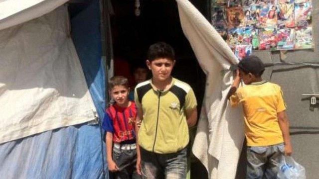 Кількість сирійських біженців-дітей сягнула мільйона, - ООН