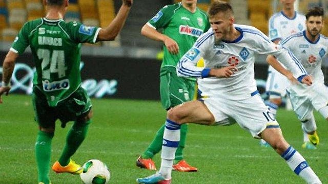 «Карпати» поступилися «Динамо» з рахунком 0:1