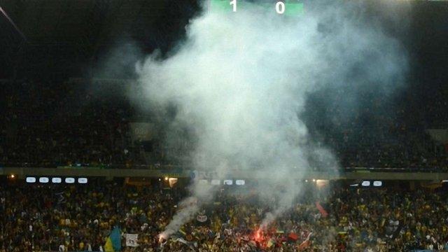 Матч плей-оф Україна проведе з глядачами