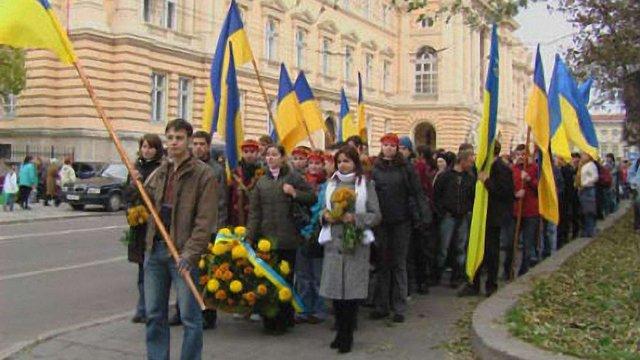 У Львові частково перекриють рух через ходу до річниці ЗУНР