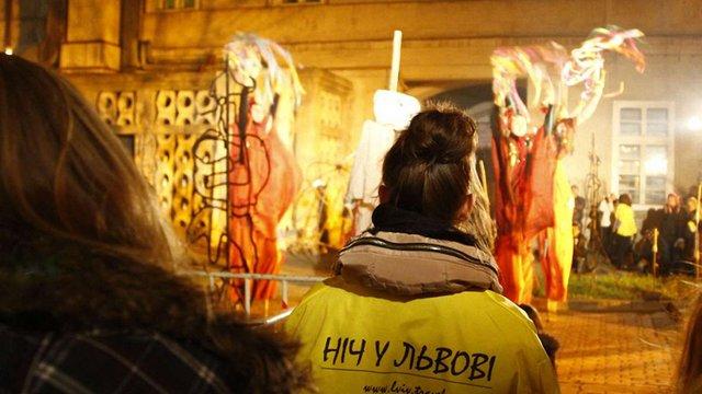 Листопадові «Ночі у Львові» планують зібрати 15 тисяч відвідувачів