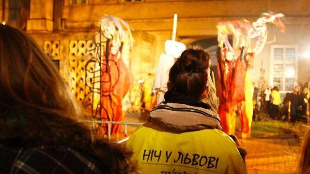 «Ніч у Львові» відвідало понад 13 тис. осіб