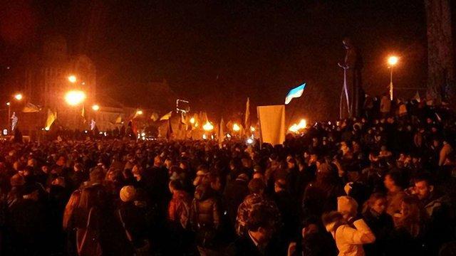 Євромайдан у Львові оголосили безстроковим