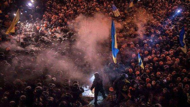 На Майдані у Києві вже тисячі людей