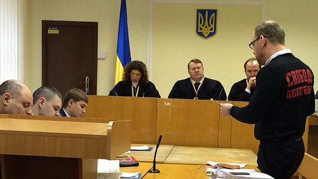 """Розгляд """"справи Власенка"""" суд переніс на 10 січня"""