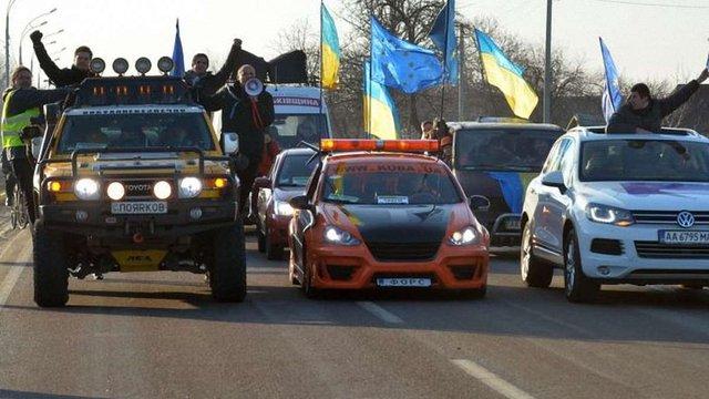 Автомайдан і Кличко – у Переяслав-Хмельницькому