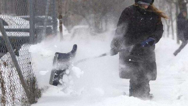 Сніговий шторм у США: є жертви