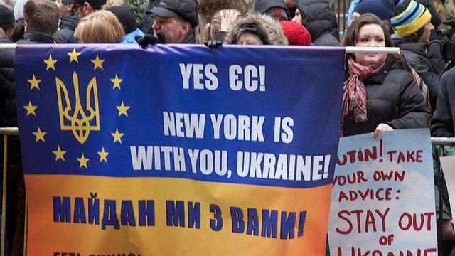 У Нью-Йорку сьогодні їздитиме автобус з українською символікою