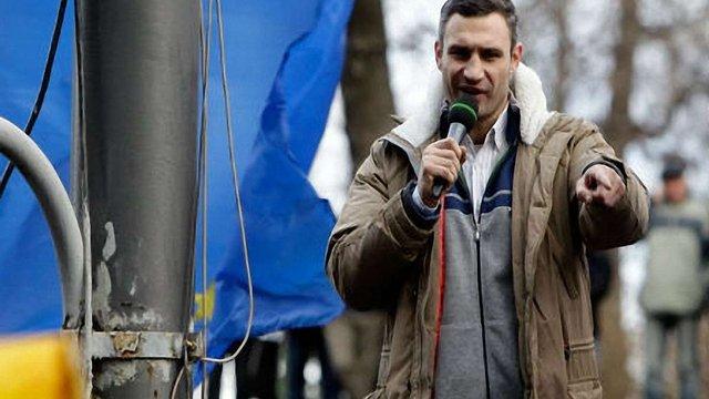 Кличко наполягає на зустрічі з Януковичем, а від Клюєва пішов