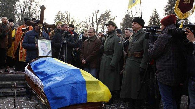 Тисячі львів'ян провели в останню путь Юрія Вербицького