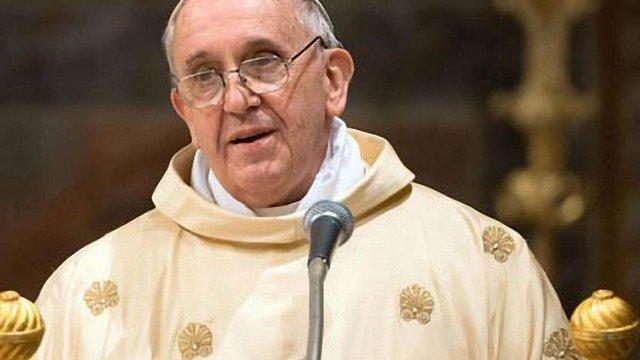Папа Римський помолився за мир в Україні