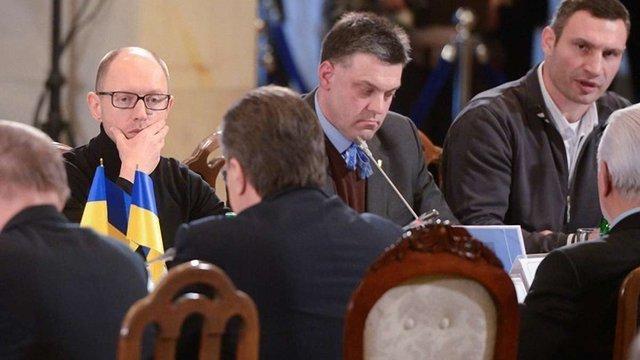 Опозиціонери знову прийшли на переговори до Януковича