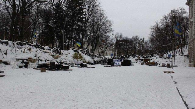 У Львові активісти звільнили приміщення ОДА (фото)