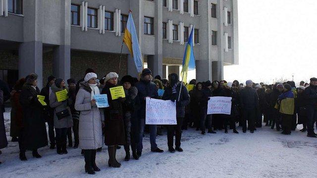 Підприємці Львівщини не хочуть утримувати владу і силовиків