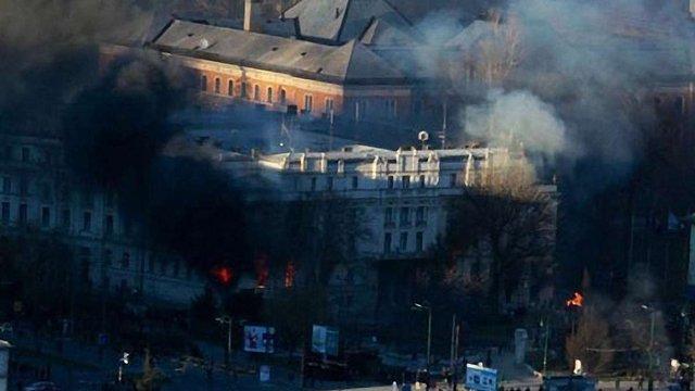 В Сараєві протестувальники підпалили палац президента