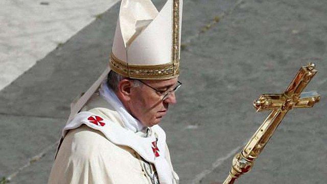 Папа Римський закликав припинити насильство в Україні