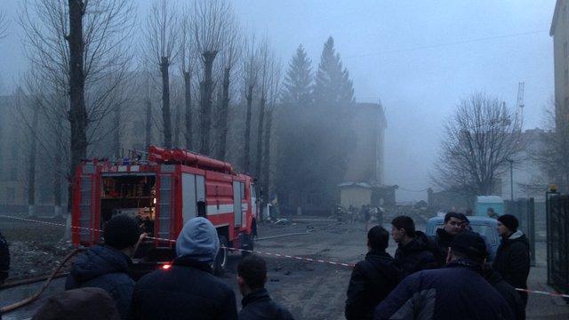 У військовій частині на Стрийській загорівся склад з боєприпасами
