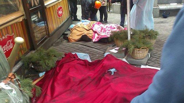 У Києві біля Жовтневого палацу загинув студент зі Львова