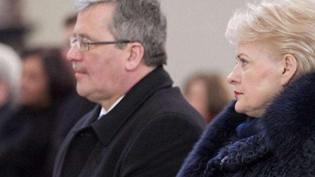 Президенти Литви і Польщі: дії Росії загрожують всій Європі