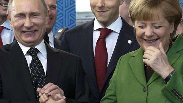 Меркель засумнівалася в адекватності Путіна