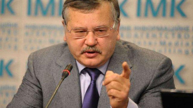Турчинов має віддати наказ знешкодити окупантів, - Гриценко