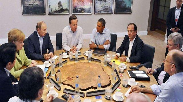 Країни G7 вимагають в Росії не підтримувати референдум в Криму