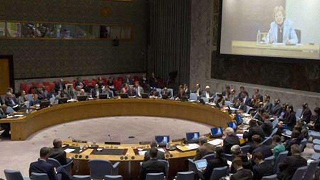 Радбез ООН розгляне в суботу резолюцію щодо України