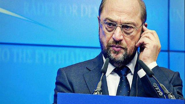 Шульц: Зараз не час обговорювати членство України в ЄС