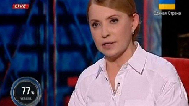 Тимошенко визнала, що теперішня влада ділить посади
