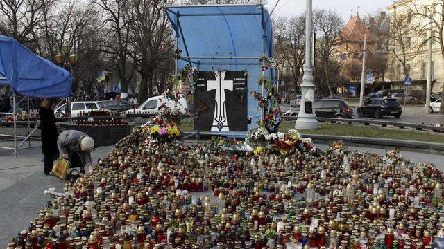 В неділю у Львові відбудеться панахида за Героями Майдану