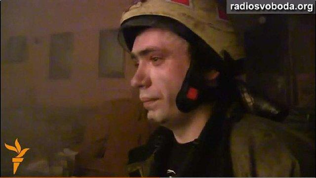 У Києві згорів офіс КПУ