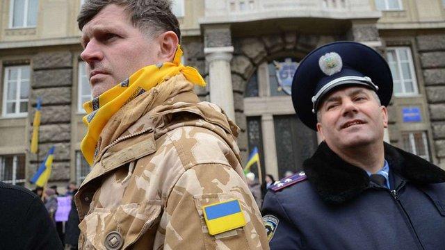 Охорону порядку СБУ забезпечить разом з громадськими організаціями