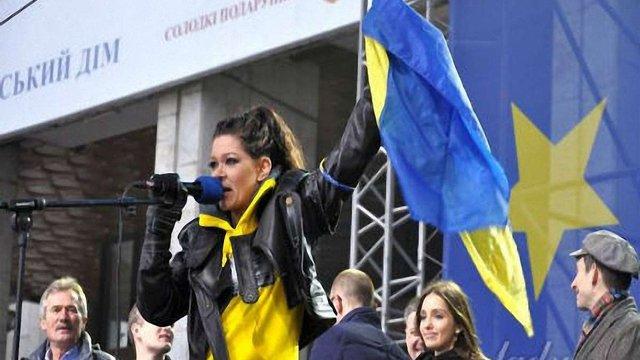 Співачка Руслана стала «Почесним громадянином Львова»