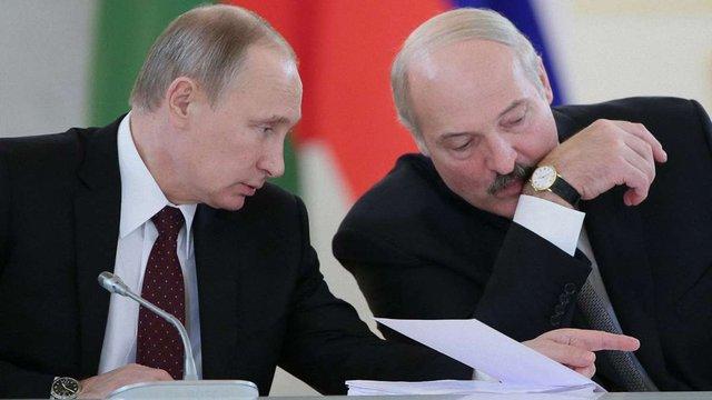 Лукашенко просить Росію виробити спільну стратегію щодо України