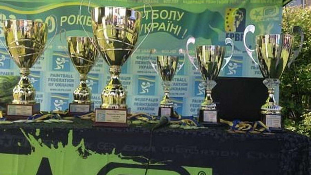 Кияни стали призерами І етапу Кубку України з пейнтболу