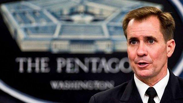 Пентагон не бачить ознак відведення російських військ від України