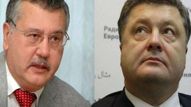 Ярош і Гриценко вже пропонують Порошенку свою допомогу