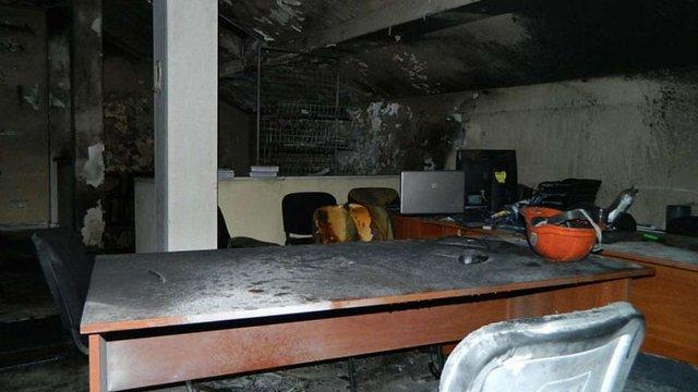 В Одесі намагалися спалити штаб «Свободи»
