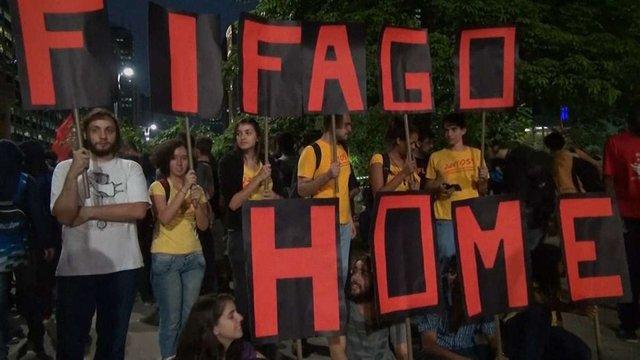 Тисячі бразильців погрожують зірвати чемпіонат світу