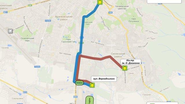 31 травня до стадіону «Арена Львів» курсуватимуть експрес-маршрути