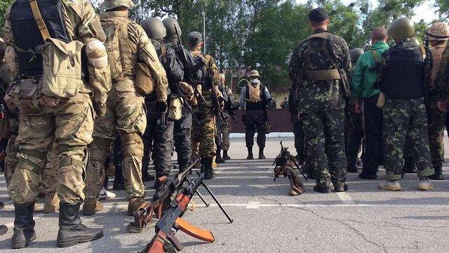 Другий батальйон Нацгвардії прийшов на допомогу силовикам АТО