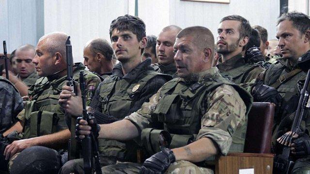 Вони захистили Батьківщину! Перший батальйон Нацгвардії повернувся з Донбасу